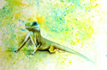 ArtByElise Brusho Lizard for website