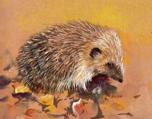 ArtByElise Hedgehog for website