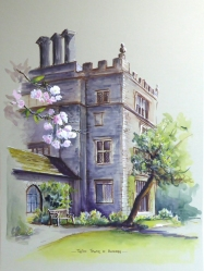 Turton Tower in Blossom. for website